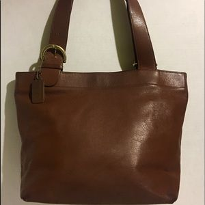 Coach Vintage Brown leather satchel handbag